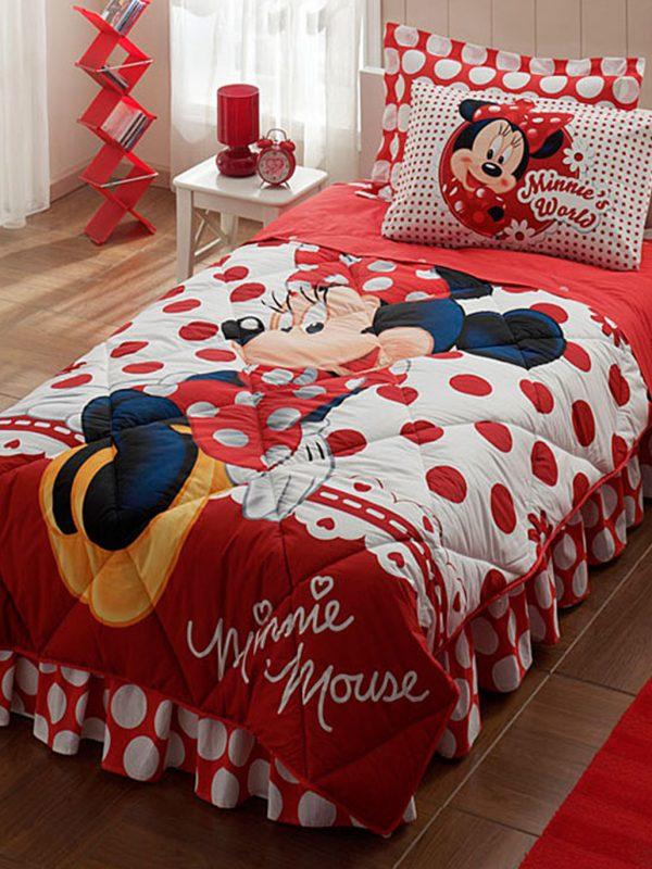 Taç Disney Minnie Mouse Lisanslı Tek Kişilik Uyku Seti