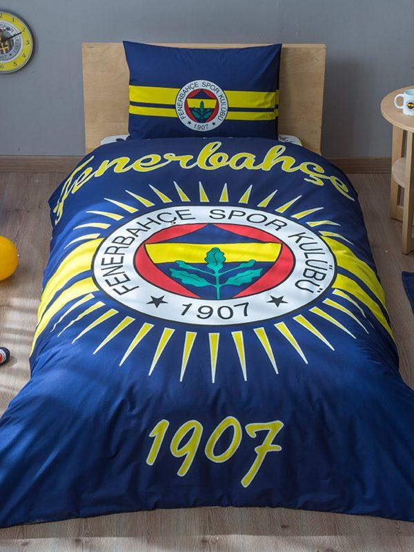 Taç Fenerbahçe Parlayan Güneş Lisanslı Tek Kişilik Nevresim Takımı