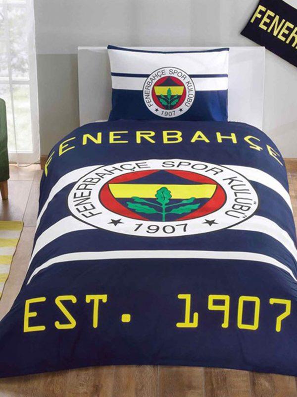 Taç Fenerbahçe Sarı Kanarya Lisanslı Tek Kişilik Nevresim Takımı