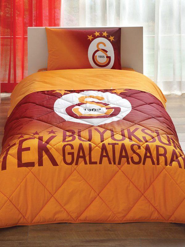 Taç Galatsaray 4. Yıldız Lisanslı Tek Kişilik Uyku Seti