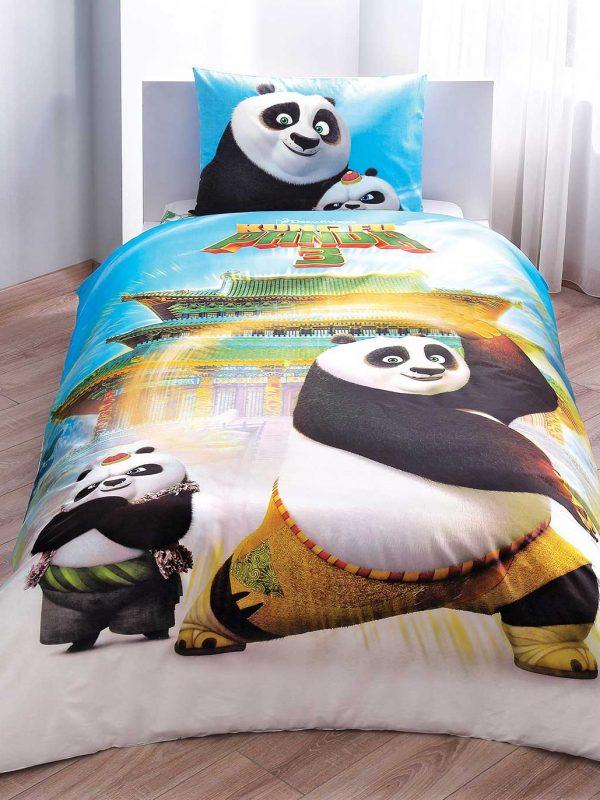 Taç Disney Kung-Fu Panda Movie Lisanslı Tek Kişilik Nevresim Takımı