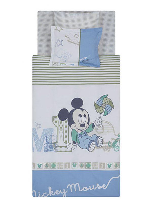 Taç Disney Mickey Sketch Baby Bebek Nevresim Takımı