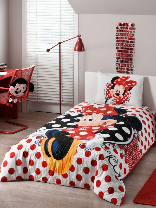 Taç Disney Minnie Mouse Complete Nevresim Takımı Seti