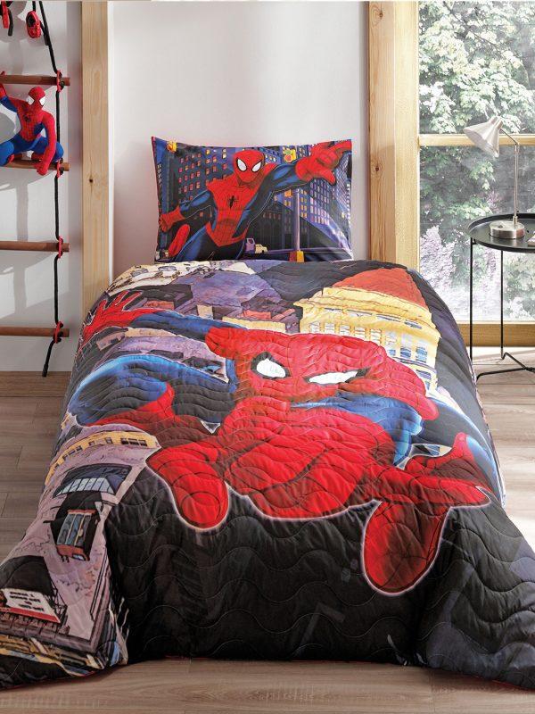 Taç Spiderman Örümcek Adam Complete Nevresim Takımı Seti
