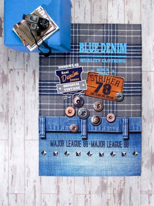 Taç Jeans 80x140 Baskılı Genç Odası Halı