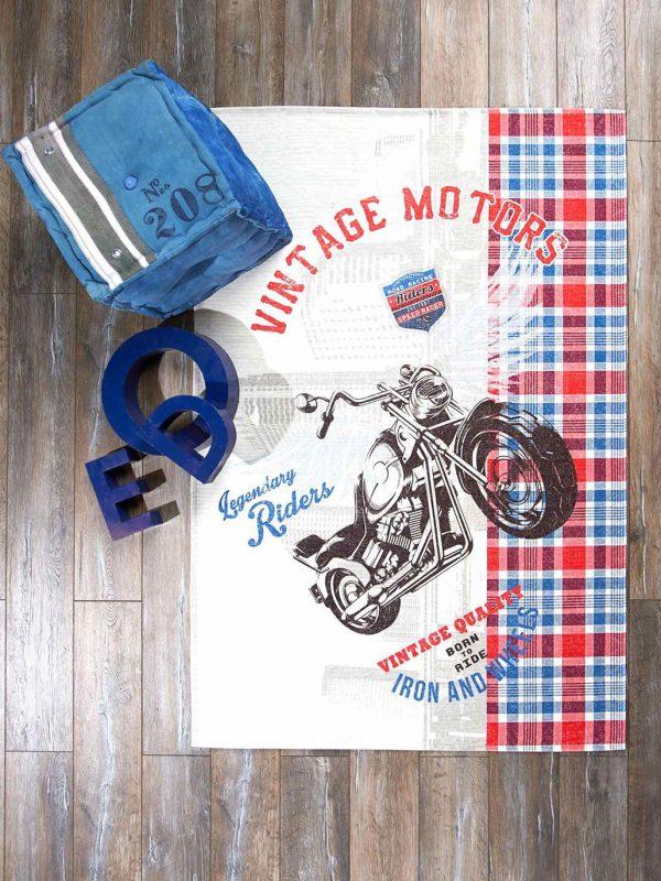 Taç Genç Odası Vintage Halı 80x140 cm